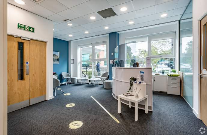 Reception Area - Adamson House, Towers Business Park, Manchester - Co-working space for rent - 200 to 16,249 sq ft