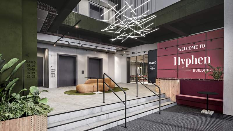 Reception - Hyphen, Manchester - Office for rent - 4,786 to 8,230 sq ft