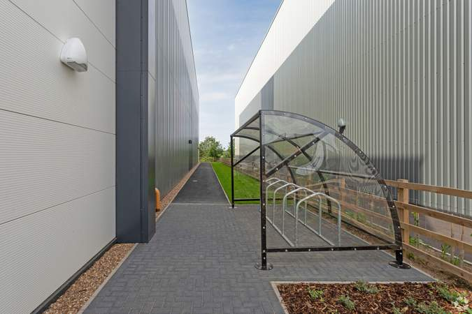 Bike Shed - L34, Electric Ave, St Modwen Park Lincoln, Lincoln - Industrial unit for rent - 33,738 to 33,631 sq ft