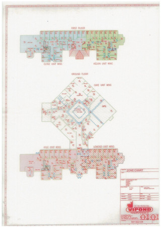 Floor Plan - Crossmyloof Care Home, Glasgow - Healthcare space for sale - 30,139 sq ft