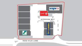 Site Plan for 6-7 Hyperion Way - 1