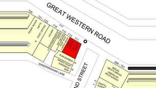 Goad Map for 711-713 Great Western Rd - 2