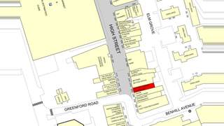 Goad Map for 208 High St - 2