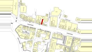 Goad Map for 128-129 Cheapside - 1
