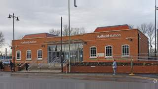 Primary Photo of Hatfield Rail Station