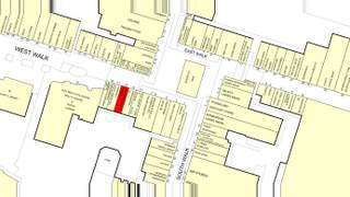 Goad Map for 1-21 West Walk - 2