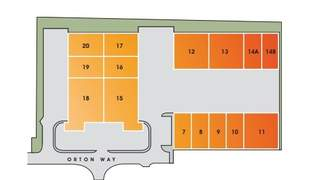 Site Plan for Orton Way - 1