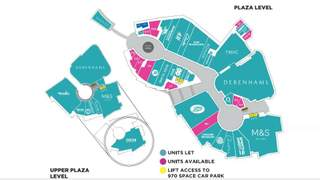 Floor Plan for Eagles Meadow Shopping Centre - 2
