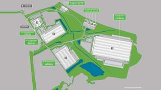 Site Plan for London Medway Commercial Park - 1