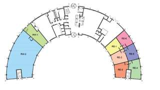 Site Plan for The Crescent - 1