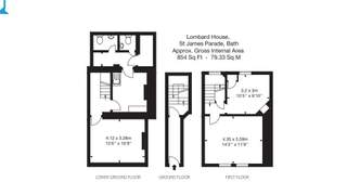 Floor Plan for Lombard House - 1