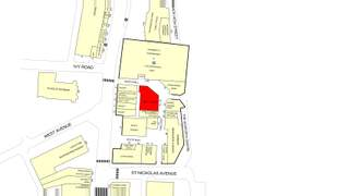 Goad Map for Gosforth Shopping Centre - 2
