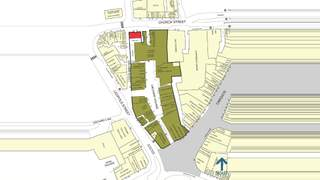 Goad Map for Orchard Square Shopping Centre - 1