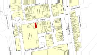 Goad Map for The Strand Shopping Centre - 2