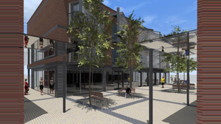 Primary Photo of Proposed Retail Units - St Wilfrid's Square