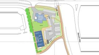 Site Plan for Ingleby Way - 1