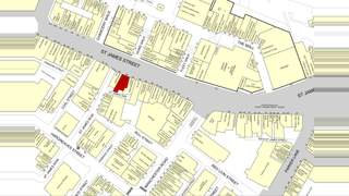 Goad Map for 66 St James St - 1