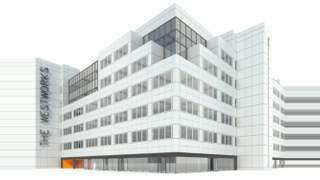 Primary Photo of West Works, White City Place, Wood Lane, London, W12 7TP