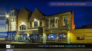 Primary Photo of Leisure Investment – Ttonic Bar, Sunderland