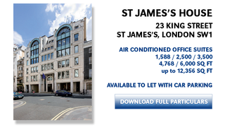 Primary Photo of 23 King St. James's, London SW1Y 6QY
