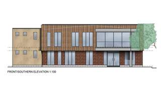 Primary Photo of Proposed Office Development, Option B, Crusader Road, Tritton Road, Lincoln, LN6