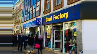 Primary Photo of Card Factory 28 Courtenay Street, Newton Abbot Devon, TQ12 2DT