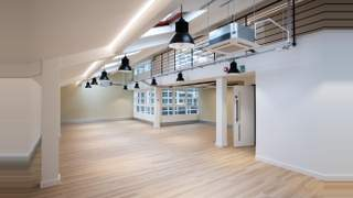 Primary Photo of Berghem Mews, Part 1, 920 sq ft, Unit 12, 1st and 2nd Floor, Blythe Road Brook Green London W14