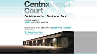 Primary Photo of Unit 1 Centrix Court, Phoenix Parkway, Corby, Northants, NN17 5AF