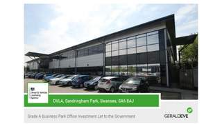 Primary Photo of DVLA, Sandringham Business Park, Swansea, SA6 8AJ