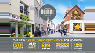 Primary Photo of Unit 6 Timberhill Terrace, Castle Mall Shopping Centre, Norwich, NR1 3DD