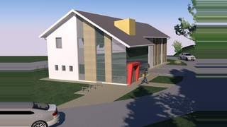 Primary Photo of Proposed Offices next to Corrie Lod, Millburn Road, Inverness - IV2 3TP