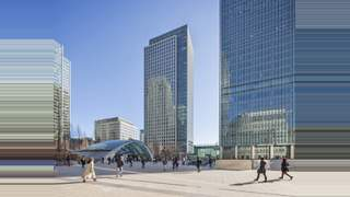Primary Photo of 40 Bank Street, Canary Wharf, London E14 5AB