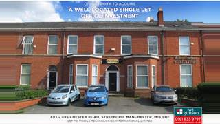 Primary Photo of 493-495 Chester Road, Trafford, Manchester, Greater Manchester