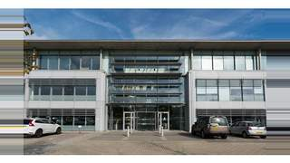 Primary Photo of Part ground, first and second floors available in this stunning office building overlooking amenity area and lakes