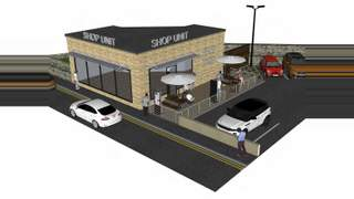 Primary Photo of New Build Retail Unit, King Street & Lawson Road, Brighouse Brighouse