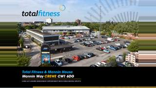 Primary Photo of Total Fitness, Mannin Way, Crewe, CW1 6DG