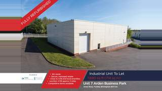 Primary Photo of Unit 7, Arden Business Park, Arden Road, Frankley, Birmingham, B45 0JA