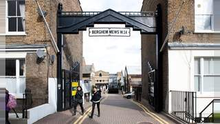 Primary Photo of Berghem Mews, Part 3, 123 sq ft, Unit 11 and 12, 1st and 2nd Floor, Blythe Road Brook Green London W14