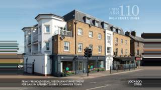 Primary Photo of Esher - Units A&B - 110 High Street