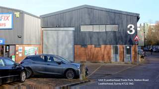 Primary Photo of Unit 3, Leatherhead Trade Park, Station Road, Leatherhead, Surrey, KT22 7AG