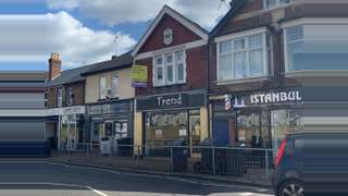 Primary Photo of Freehold shop with large 3 bedroom flat & yard close to Station