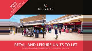 Primary Photo of Coalville - Unit 62b, Belvoir Shopping Centre, LE67 3XB