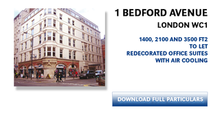 Primary Photo of 1 Bedford Ave, Fitzrovia, London WC1B 3AU
