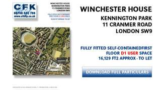 Primary Photo of Winchester House, Kennington Park, London SW9, LET