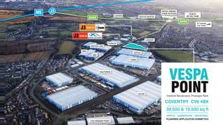 Primary Photo of Unit 1 Vespa Point (Plot A2), Prologis Park, Coventry, West Midlands