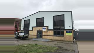 Primary Photo of Modern end of terrace industrial premises to let in Poole, Unit 3, 19 Willis Way, Poole, BH15 3SS