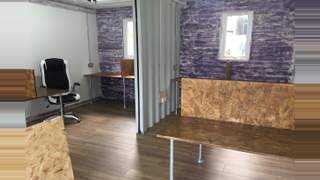 Primary Photo of Shipping Container Office Suite, Cobbler's Thumb, New England Road, Brighton, East Sussex
