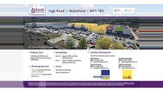 Primary Photo of Unit 7 - First Floor Beck Retail Park, Ings Road, Wakefield, WF1 1RS