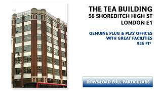 Primary Photo of The Tea Bldg, 56 Shoreditch High St, London E1 6JJ