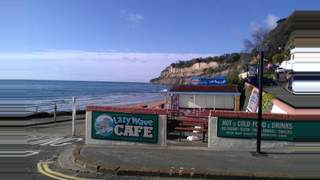 Primary Photo of Lazy Wave Cafe 214631, 2a The Esplanade, Shanklin